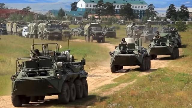 """Quân đội Nga bắt đầu tập trận chiến lược quy mô lớn """"Sấm sét-2019"""""""