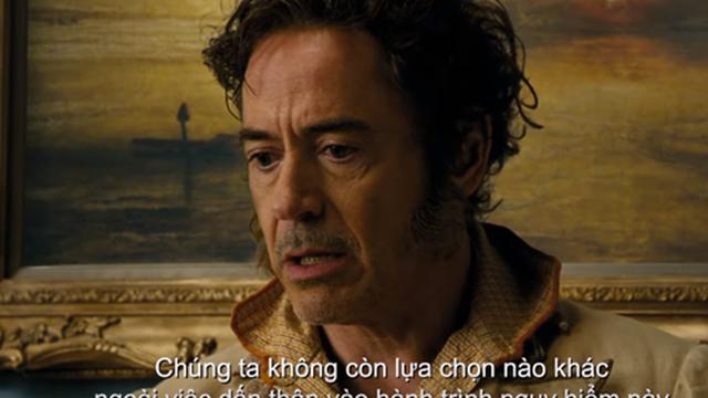 """Người sắt - Robert Downey Jr. tái xuất trong """"Bác sĩ Dolittle: Cuộc phiêu lưu thần thoại"""""""