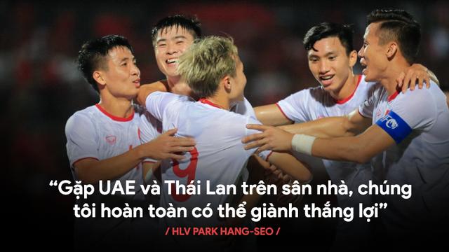Thiên thời, địa lợi, nhân hòa đủ cả, đến lúc đưa Việt Nam bay cao rồi, thầy Park!