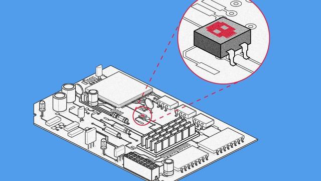 Cấy chip vào bảng mạch để hack dữ liệu chỉ tốn chưa đến 200 đô