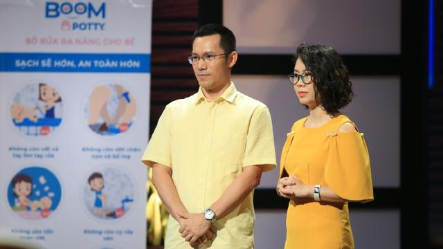 """Shark """"bà ngoại"""" đầu tư 2,5 tỷ cho startup bô trẻ em để làm quà cho cháu ngoại khiến Shark Hưng 'sang chấn'"""