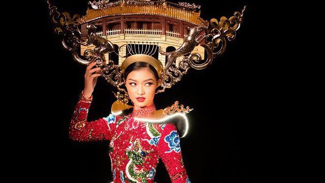 Quốc phục đính 2.000 đèn led của Á hậu Kiều Loan sẽ tranh tài tại Hoa hậu Hòa bình thế giới