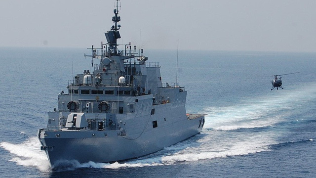 Chiến hạm tàng hình đa nhiệm Hải quân Ấn Độ sắp thăm Đà Nẵng