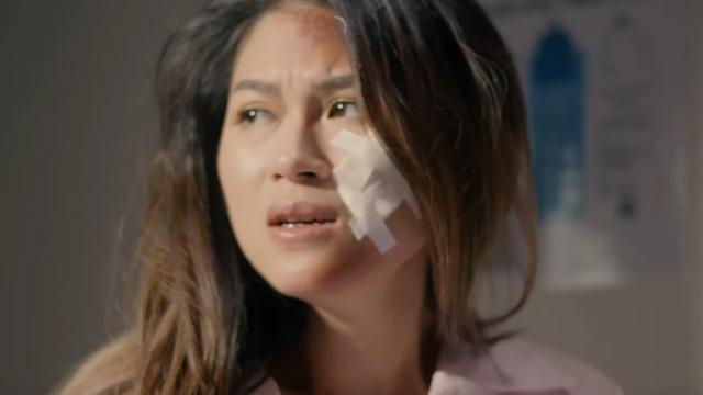 Ngọc Thanh Tâm chịu bầm dập đóng phim về chuyện có thật trong showbiz