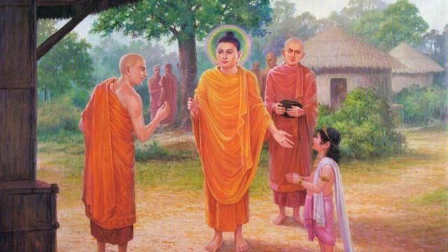 Sai 2 môn đồ đi xin dưa với 2 kết quả khác nhau, Đức Phật nói lý do khiến họ ngỡ ngàng