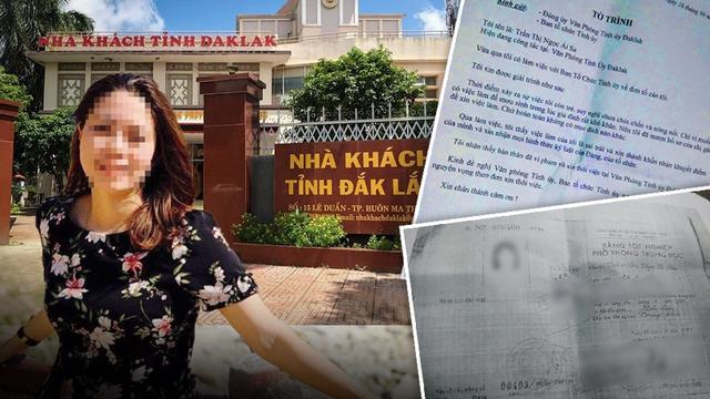 """Chị gái nữ trưởng phòng ở Tỉnh uỷ Đắk Lắk nói """"hoàn toàn không biết Thảo lấy bằng cấp hay giấy tờ gì"""""""