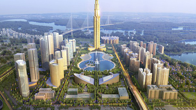 Hà Nội sắp xây tòa tháp cao nhất Việt Nam và Đông Nam Á