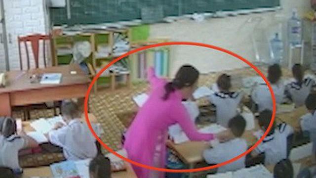 """Cô giáo nhận sai khi đánh học trò, nhưng thắc mắc """"có phải phụ huynh gắn camera hay không?"""""""