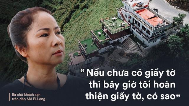 """Bà chủ khách sạn trên đèo Mã Pì Lèng: """"Tôi phải di chuyển khỏi khu vực thì dân ở đây sẽ đói"""""""