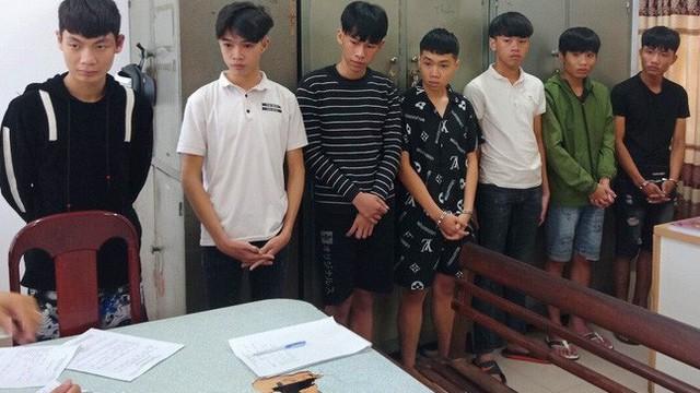 Bắt nhóm thanh thiếu niên chém nhau giữa trung tâm Đà Nẵng