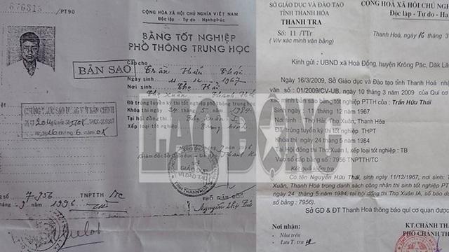 Huyện Krông Pắk phản hồi về bằng cấp 3 của Trưởng phòng Nội vụ