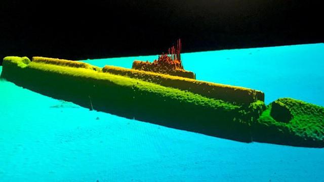 Tàu ngầm từ Thế chiến II bất ngờ được tìm thấy sau 75 năm mất tích