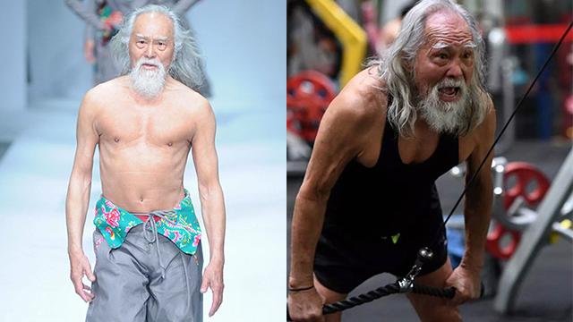 Tài tử đẹp lão nhất Trung Quốc: 83 tuổi vẫn tập gym, làm người mẫu, đóng cảnh hành động