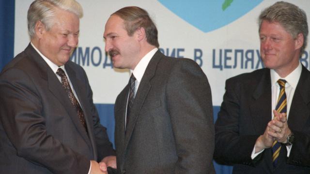TT Belarus từng táo bạo đề nghị cựu TT Mỹ Clinton lãnh đạo Nhà nước Liên minh Nga-Belarus, ông Yeltsin phản ứng ra sao?