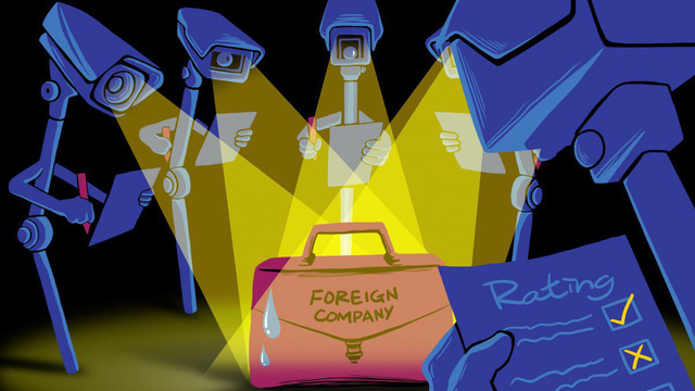 """Lên kế hoạch chấm điểm hàng triệu công ty nước ngoài, Trung Quốc buộc các công ty """"nghe lời""""?"""