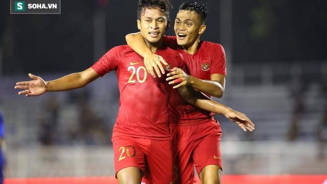 """KẾT THÚC U22 Indonesia 4-0 U22 Lào: Indonesia cùng Việt Nam """"đá"""" Thái Lan về nước"""
