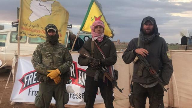 """Bí mật nhóm """"ngoại binh"""" tử chiến với lính Thổ Nhĩ Kỳ ở Syria: Thập tự quân kiểu mới?"""