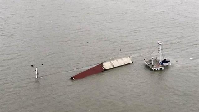 Tàu chở hơn 800 tấn hàng dịp 11/11 của Taobao chìm nghỉm giữa biển, khách lo lắng mất hàng