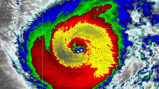 Siêu bão Hạ Long: Lột xác thành siêu bão 'quái vật', mạnh bậc nhất lịch sử vệ tinh thời tiết