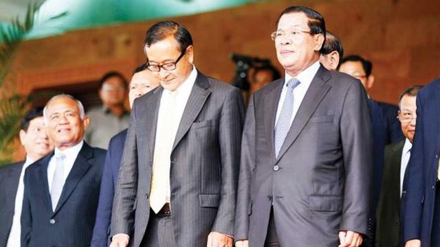 """Sam Rainsy chuẩn bị đi Bangkok, cảnh sát Campuchia đột kích trụ sở CNRP bắt 10 người """"âm mưu đảo chính"""""""