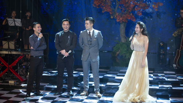 """Đinh Mạnh Ninh và 2 nhạc sĩ tài năng thăng hoa trong đêm nhạc """"Bài ca tình yêu"""""""