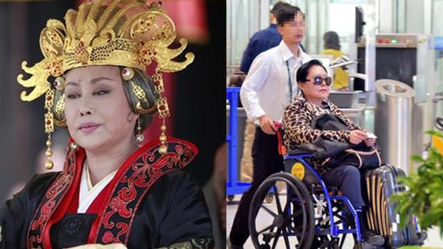 """""""Võ Tắc Thiên"""" 3 đời chồng: Não chấn thương khi quay phim, tuổi già bệnh tật phải ngồi xe lăn"""