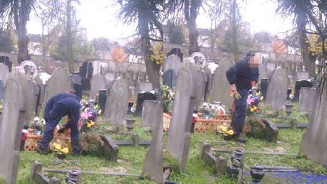 Bí mật lắp camera theo dõi gần mộ chồng quá cố, người phụ nữ phát hiện điều không ngờ