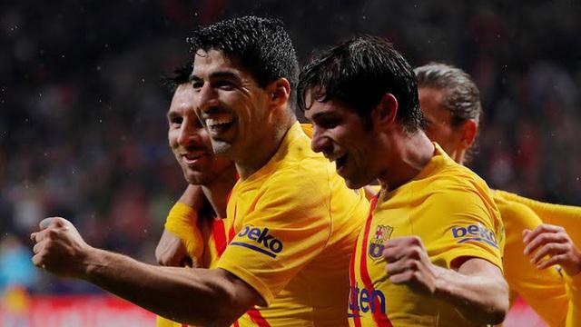 Kết quả bóng đá Atletico Madrid 0-1 Barca: Messi kéo sập Wanda Metropolitano