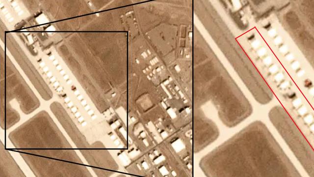 Ảnh vệ tinh để lộ khung cảnh bất thường: 12 máy bay lạ xuất hiện ở căn cứ tuyệt mật của Mỹ