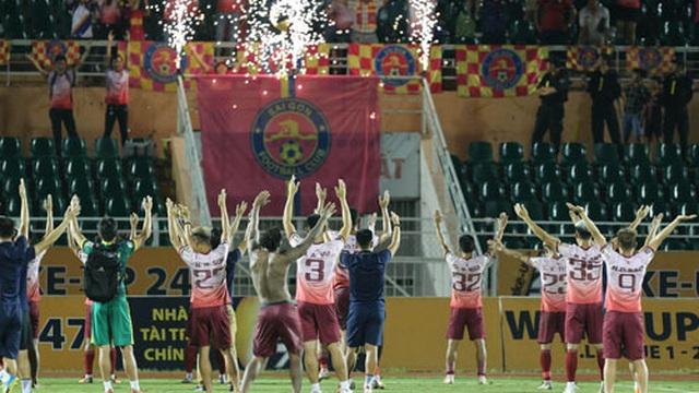 Sài Gòn FC không còn của bầu Hiển