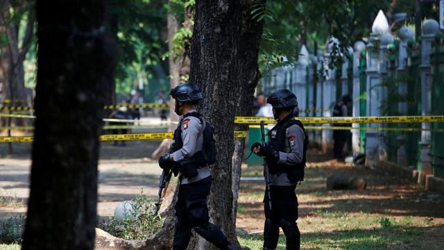 Nổ lớn gần Phủ Tổng thống Indonesia ở thủ đô Jakarta