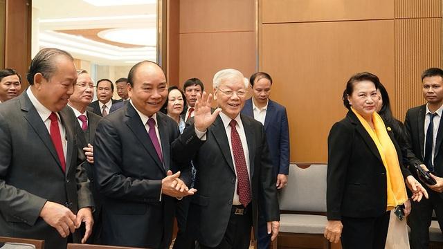 Tổng Bí thư, Chủ tịch nước Nguyễn Phú Trọng dự Hội nghị trực tuyến Chính phủ với các địa phương