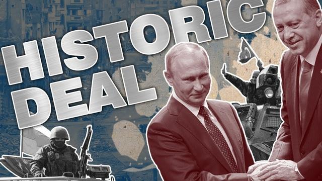 """Tưởng """"chia đôi"""" chiến thắng cùng Nga, hóa ra Thổ Nhĩ Kỳ đang """"gặm nhấm"""" thất bại ở Syria?"""