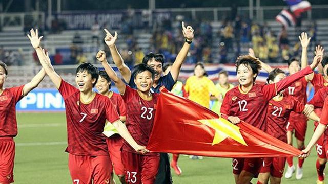 """Đội tuyển bóng đá nữ Việt Nam nhận """"kỷ lục"""" tiền thưởng sau khi vô địch SEA Games 30"""