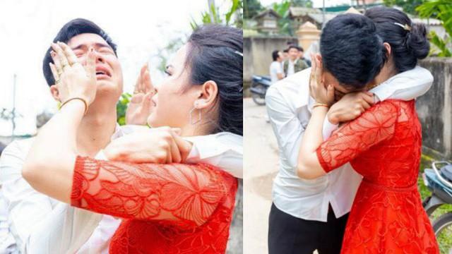 """Anh trai bật khóc nức nở trong ngày em gái đi lấy chồng và 4 bức ảnh gây """"sốt"""" mạng xã hội"""