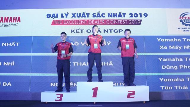 Chân dung đại diện của Yamaha Motor Việt Nam tại Hội thi Kỹ thuật viên Xuất sắc Thế giới 2020