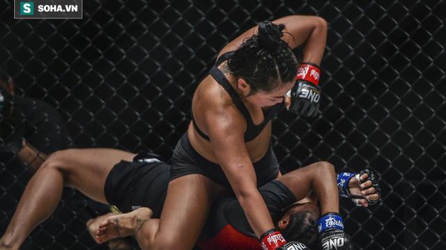 Người đẹp gốc Việt hạ gục đối thủ Indonesia ở sàn MMA danh giá nhất châu Á
