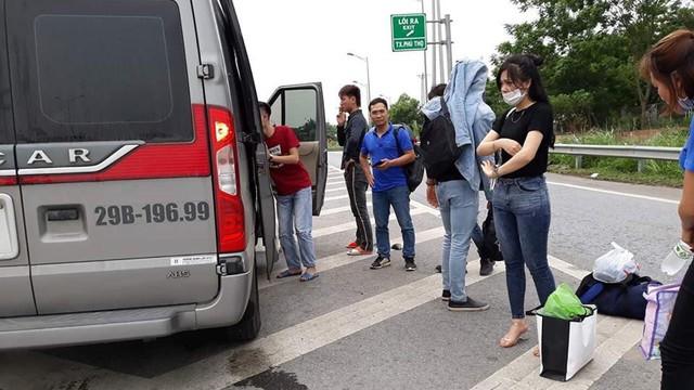 """Chủ xe """"dù"""" ném hành lý, đuổi khách xuống đường: Chưa hiểu vì sao xe của mình lại lên Yên Bái"""
