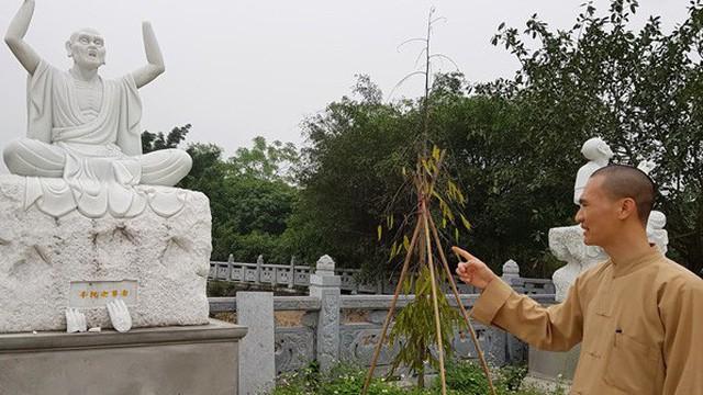 Điều tra vụ 16 pho tượng La Hán trong ngôi chùa cổ ở Hà Nội bị đập phá