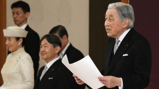 Nhật hoàng Akihito tuyên bố chính thức thoái vị, gửi lời chúc hòa bình tới thế giới