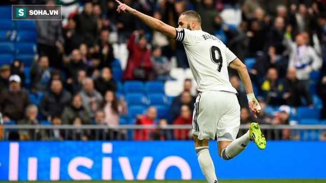 Benzema sắm vai cứu tinh giúp Real níu giữ hy vọng lật đổ Barcelona