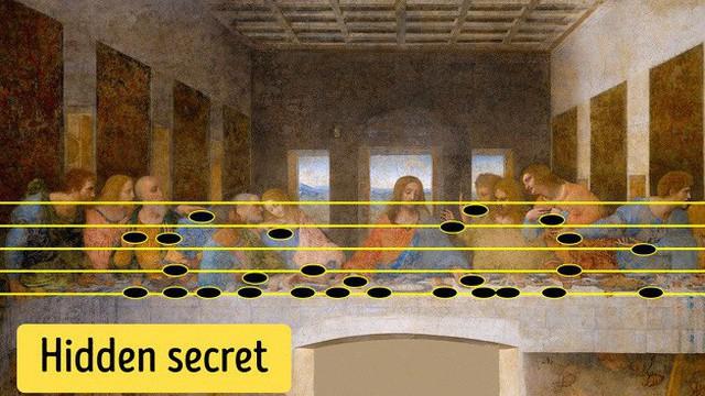 Mật mã ẩn trong tranh của Da Vinci: Hậu thế khó mà tưởng tượng được!
