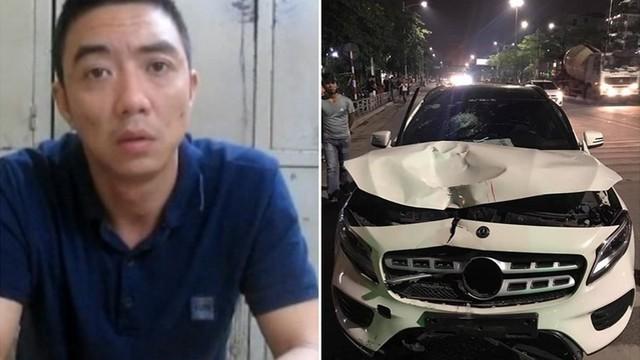 Khởi tố vụ án tài xế xe Mercedes đâm tử vong 2 người ở hầm Kim Liên rồi bỏ chạy