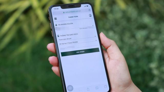 Bệnh viện đầu tiên áp dụng thanh toán viện phí ngay trên smartphone