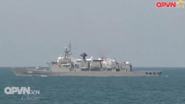 Hải quân Việt Nam khẳng định năng lực trong diễn tập an ninh hàng hải ASEAN - Trung Quốc