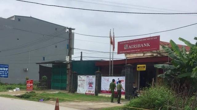 Bắt nghi phạm cướp hơn 500 triệu đồng của ngân hàng Agribank ở Phú Thọ
