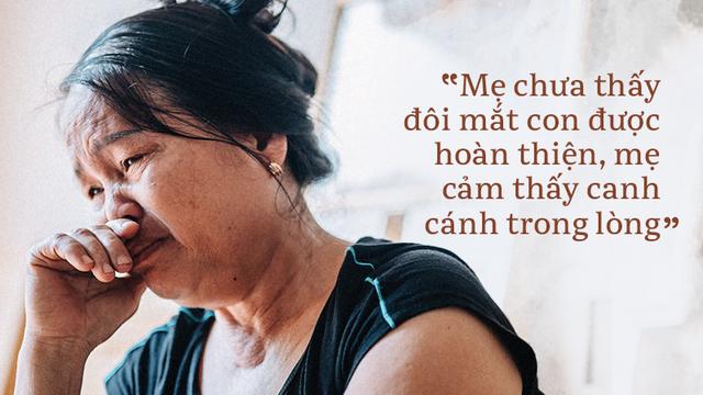 Người mẹ hiến tạng con cứu 5 người: Tôi muốn tặng người nhận giác mạc của con tôi thêm 1 bên giác mạc của mình