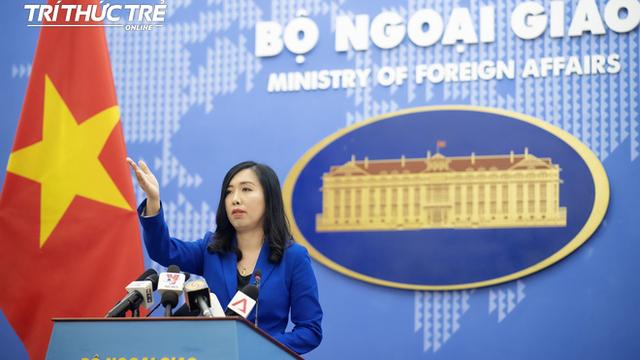 Tàu cá Việt Nam bị tàu Trung Quốc khống chế, Bộ Ngoại giao yêu cầu Trung Quốc bồi thường