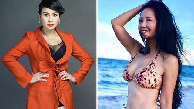 Vẻ nóng bỏng của 2 diva nhạc Việt ở tuổi 50