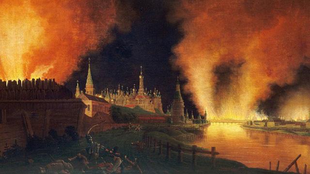 Vì sao Napoleon không thể làm nổ tung cung điện Kremlin?